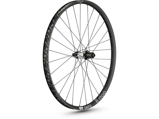 """DT Swiss E 1700 Spline Rear Wheel 27.5"""" Disc CL 142/12mm Thru-Axle black"""